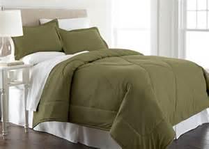 olive green micro flannel comforter micro flannel bedding