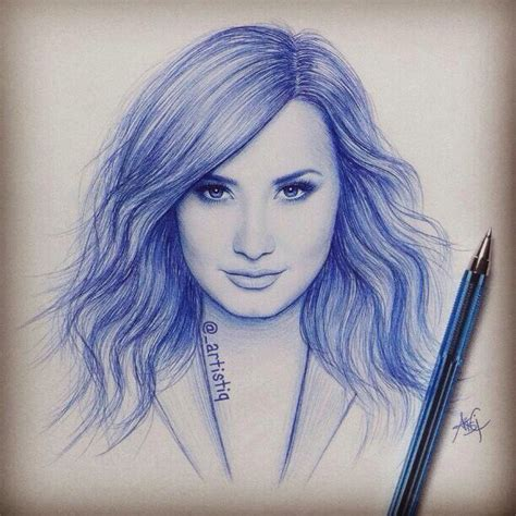 Demi Lovato Drawing, Awesome, This Looks Amazing  Art