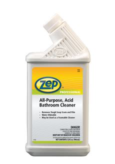 zep distribution all purpose acid bathroom cleaner