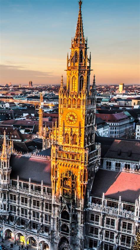 Download Munich Skyline HD wallpaper for Redmi 1S