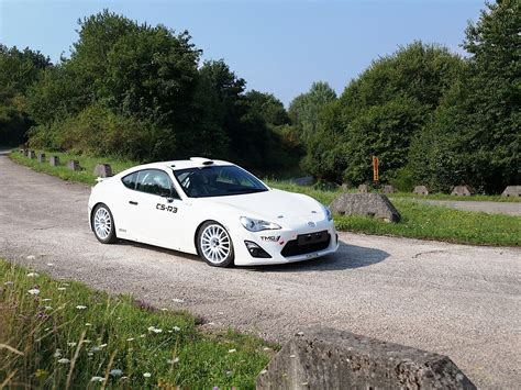 toyota gt  rally car making wrc debut  month