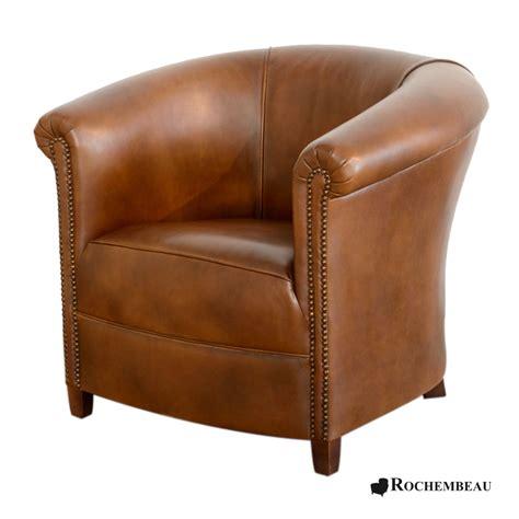 fauteuil club brighton fauteuil club crapaud tonneau en cuir