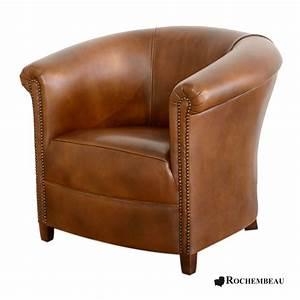 Fauteuil Crapaud Noir : fauteuil club brighton fauteuil club crapaud tonneau en cuir ~ Preciouscoupons.com Idées de Décoration