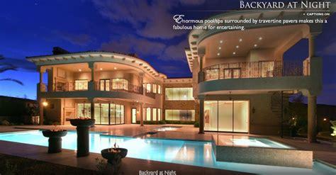 lavish las vegas mansion homes   rich