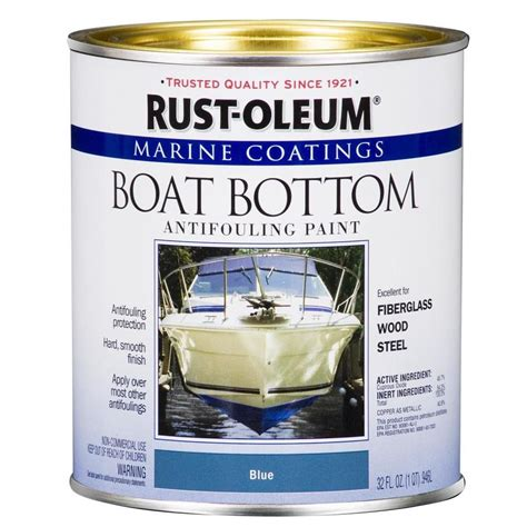 Rustoleum Boat Bottom Antifouling Paint Reviews by Shop Rust Oleum Boat Bottom Antifouling Quart Size