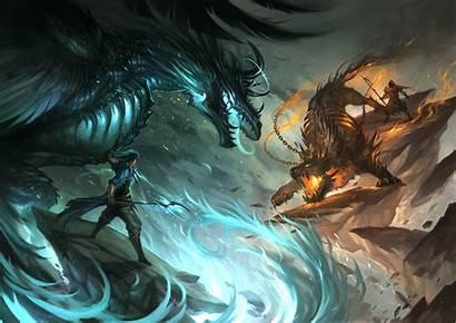 Dragon Fire Male Water Magic Hair Chain