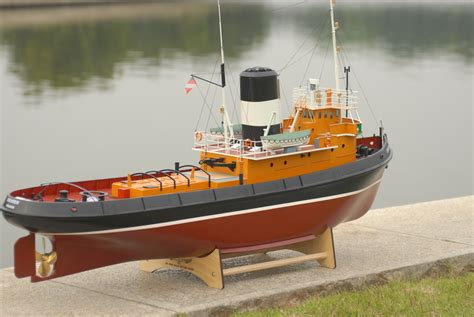 Rc Tug Boat by Rc Gas Tugboat Wood Tugboat Square Pond Tugboat Harbour