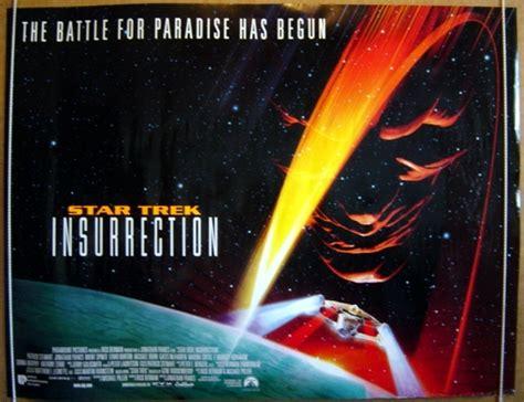 star trek insurrection original cinema  poster