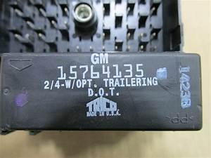 03 04 05 06 Chevrolet Silverado Fuse Box W  Flasher Relay