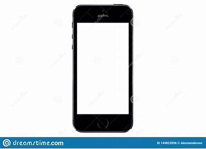 Iphone Isolated 5s Screen Blank