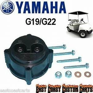 Yamaha G22  U0026 G19 Golf Cart Charger Receptacle  48 Volt