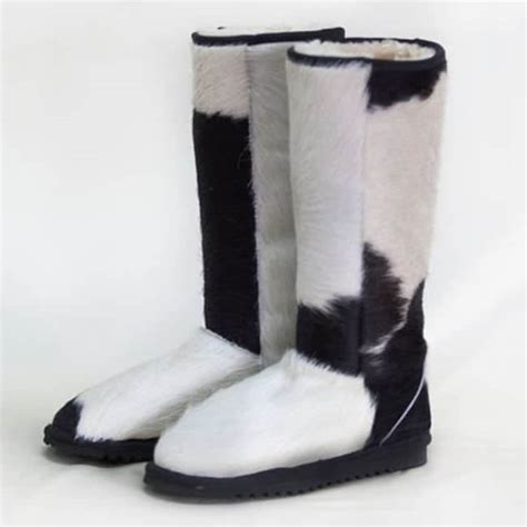 Cowhide Ugg Boots by Cow Hide Ugg Boots Eagle Wools 100 Aussie Made