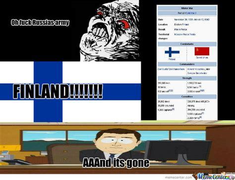 Finnish Memes - finland vs russia by scoobydo99999 meme center