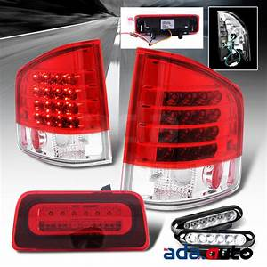Complete Led Rear Tail Lights Assembly Combo  1994 Gmc Sonoma