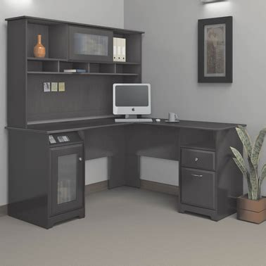 Bush Cabot L Shaped Desk by Bush Cabot L Shaped Desk Desks Home Appliances