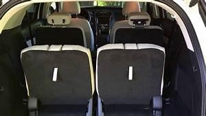 2016 Ford Explorer Platinum  Stowing Third Row Seats