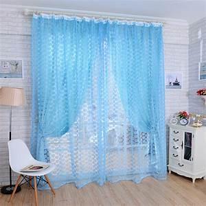 Rideau Bleu Pastel : achetez en gros pastel curtains en ligne des grossistes pastel curtains chinois aliexpress ~ Teatrodelosmanantiales.com Idées de Décoration
