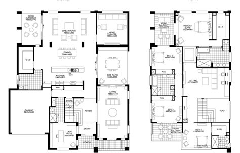 House Plans With Large Bedrooms by Floor Plan Friday Big Storey With 5 Bedrooms