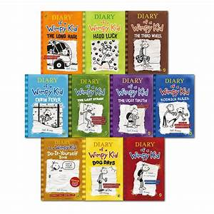 Diary Of A Wimpy Kid 10 Books Children Paperback Hardcover