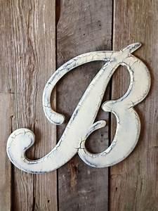 210wedding wooden letter b door hanger by rkdragonfly on With letter b door hanger