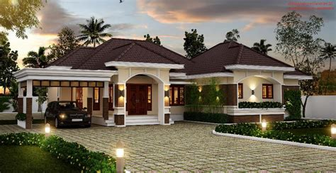 beautiful modern bungalow house designs amazing bungalow in kerala only cost 92 000 to construct