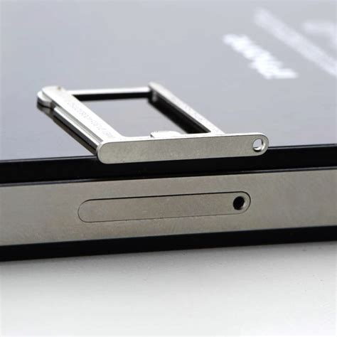 iphone 4 sim card 1pcs micro sim card tray holder slot replacement for apple