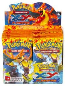 pokemon xy flashfire booster box