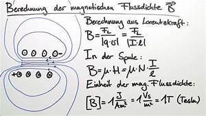 Feldstärke Berechnen : magnetisches feld physik online lernen ~ Themetempest.com Abrechnung