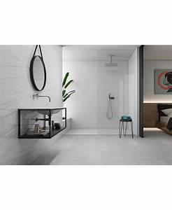 Carrelage Blanc Mat : carrelage blanc mat rectifi 40x120 cm ~ Melissatoandfro.com Idées de Décoration
