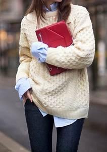 Gros Pull Laine Homme : gros pull en laine blanc tricoter laine pompon arts4a ~ Louise-bijoux.com Idées de Décoration