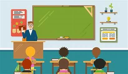 Equality Gender Classroom Students Talking Gen Teachers