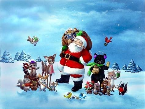 christmas santa claus wallpaper hd pictures  hd