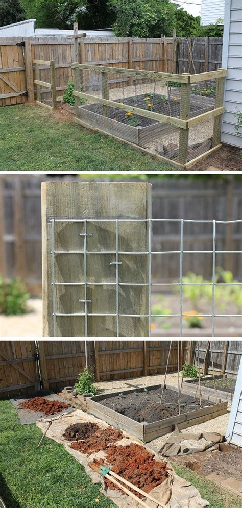 25 best ideas about chicken wire fence on