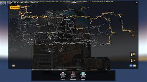 map  turkey  promods   map mod ets mod
