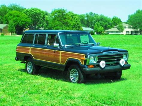 jeep wagoneer 1990 purchase used 1990 jeep grand wagoneer 4 door 5 9l great