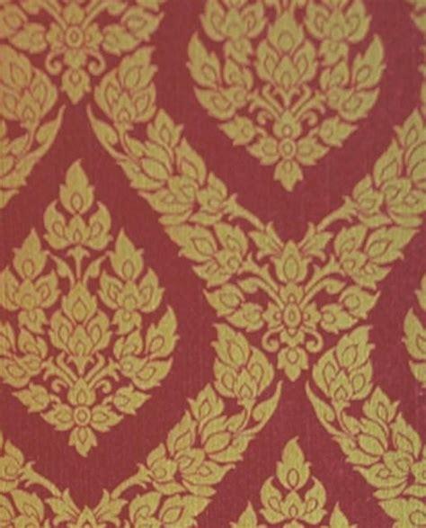 wallpaper designs for kitchens thai inspired damask pattern textured vinyl wallpaper 6972