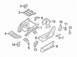 Ford Transit Connect Seat Trim Panel  Driver Seat  Manual