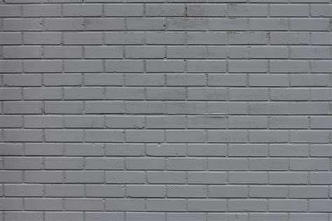 Wand Grau Streichen by Painted Gray Brick Wall Texture Set 14textures