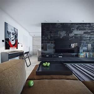 Wandgestaltung Ideen Wohnzimmer : wandgestaltung im wohnzimmer 85 ideen und beispiele ~ Yasmunasinghe.com Haus und Dekorationen