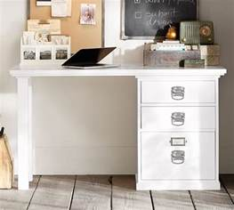 bedford small desk antique white pottery barn