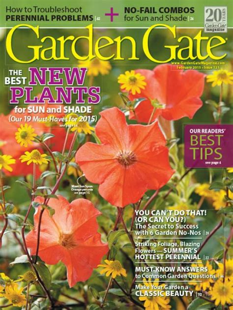 garden gate magazine tonawanda library new garden gate magazine