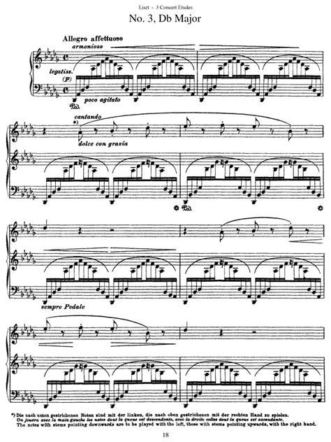 s 144 no 3 un sospiro free sheet music by liszt pianoshelf