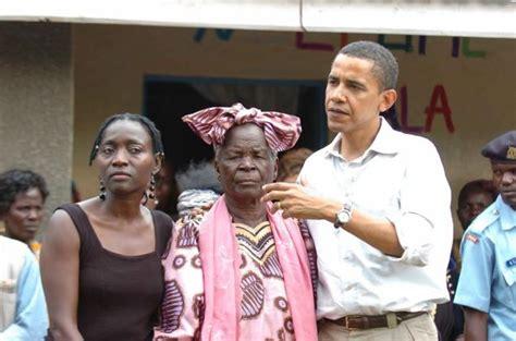 obama barack grandmother kenya mother father president grandma hussein 1992 umrah arrives sarah 2006 obamas 1988 dunham ann kenyan mama