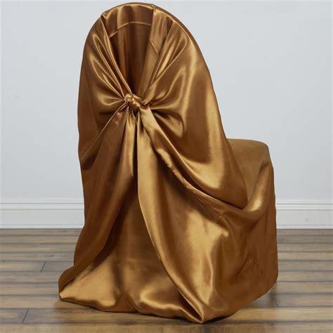 satin universal chair cover ebay