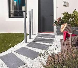 creer un chemin dans son jardin les bonnes idees de With amenager une entree exterieure de maison 15 prix dune terrasse beton