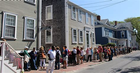 nantucket cottage hospital opening day at the hospital thrift shop nantucket