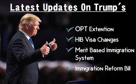 trump extension changes h1b visa opt latest updates hey there