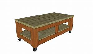 Build a coffee table howtospecialist how to build for Building a coffee table