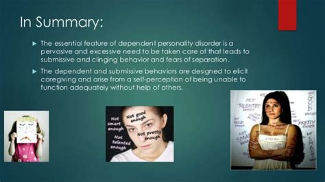 dependent personality disorder dsm