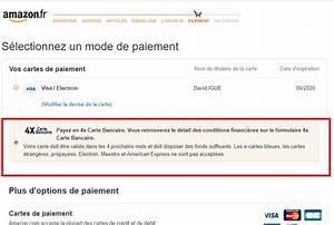 Voiture Payer En 4 Fois : amazon le paiement en 4 fois par carte bancaire est d sormais possible ~ Gottalentnigeria.com Avis de Voitures